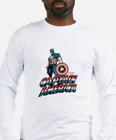 Captain America Classic Long Sleeve T-Shirt
