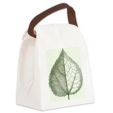 A Beautiful Leaf of Spring Canvas Lunch Bag