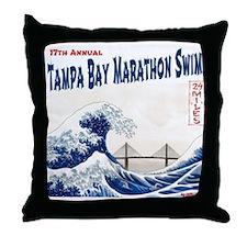17th Annual TBMS Throw Pillow
