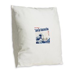 17th Annual TBMS Burlap Throw Pillow