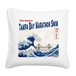 17th Annual TBMS Square Canvas Pillow