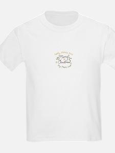 Family Friends Food Joy Peace Love T-Shirt