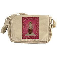 St Therese' Messenger Bag