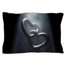 Rusty Hearts Pillow Case