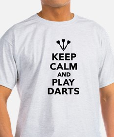 Keep calm and play Darts T-Shirt