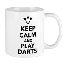 Keep calm and play Darts Mug