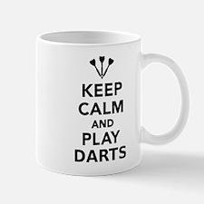 Keep calm and play Darts Mug