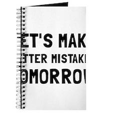 Better Mistakes Journal