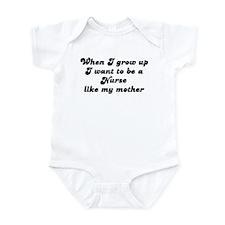 Nurse like my mother Infant Bodysuit
