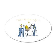We Three Kings Wall Decal