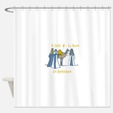 Bethlehem Kings Shower Curtain