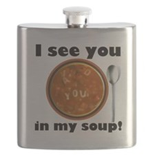 I see you in my soup Flask