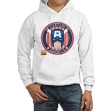 Captain America Stamp Hoodie
