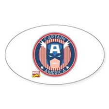 Captain America Stamp Decal