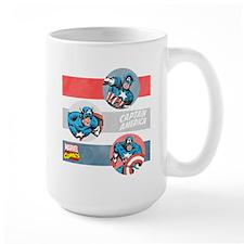 Captain America Stripes Mug