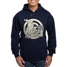 Captain America Vintage Hoodie