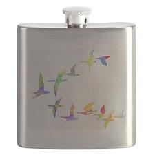 Cute Canada goose Flask