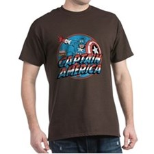 Captain America Vintage T-Shirt