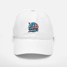 Captain America Vintage Baseball Baseball Cap