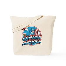 Captain America Vintage Tote Bag