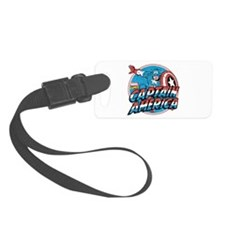 Captain America Vintage Luggage Tag