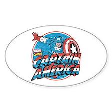 Captain America Vintage Decal