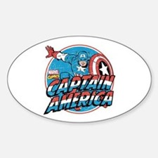 Captain America Vintage Decal