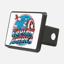 Captain America Vintage Hitch Cover