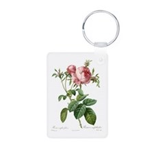 Lovely vintage pink rose Keychains