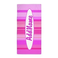Pretty Pink Beach Towel