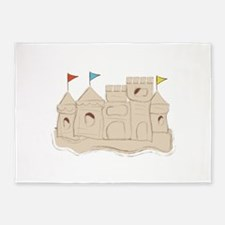 Sandcastle 5'x7'Area Rug