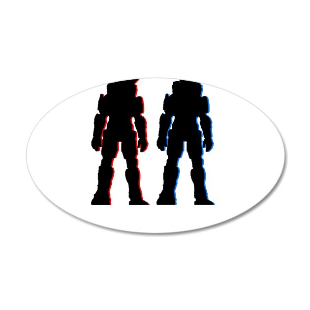 halo wall sticker by whitetomatoe