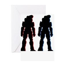 halo Greeting Cards