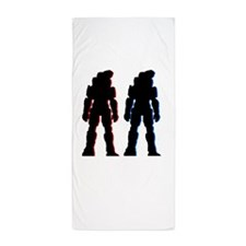 halo Beach Towel
