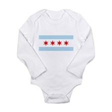 Flag of Chicago Body Suit