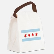 Flag of Chicago Canvas Lunch Bag