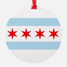 Flag of Chicago Ornament