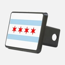 Flag of Chicago Hitch Cover