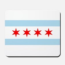 Flag of Chicago Mousepad