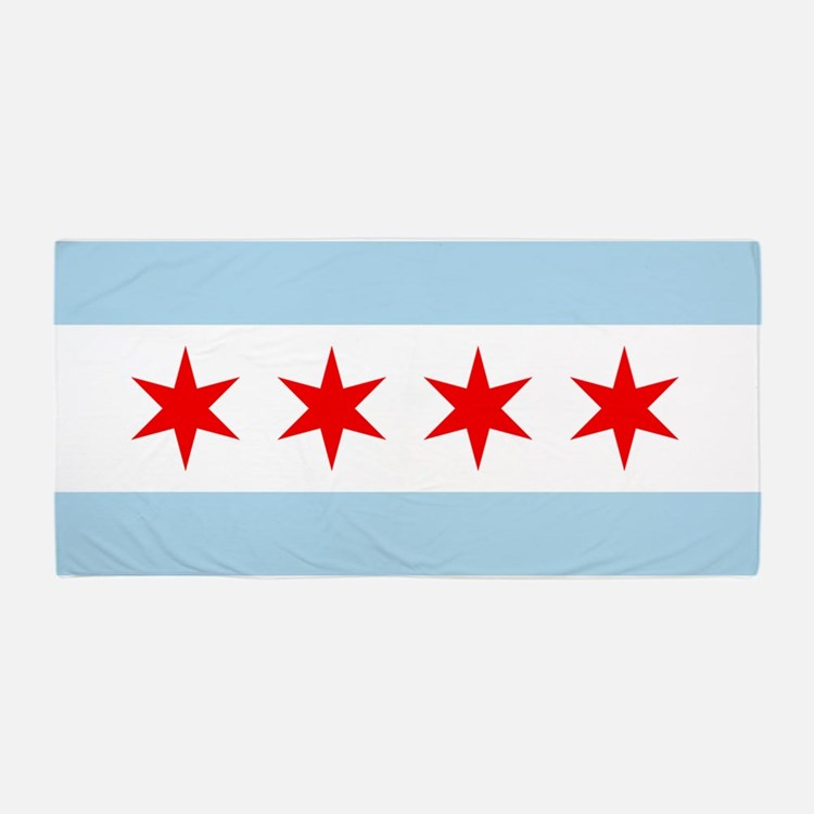 Chicago Flag Bathroom Accessories Decor Cafepress
