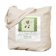 Angels - Psalms 91:11 Tote Bag