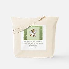 Angels - Psalms 91:11 Tote Bag