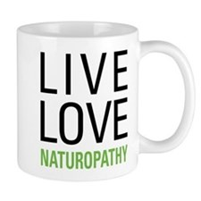 Live Love Naturopathy Mug