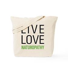 Live Love Naturopathy Tote Bag