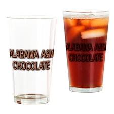 ALABAMA A&M CHOCOLATE Drinking Glass