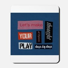 Let's make thought Mousepad