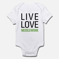Live Love Needlework Infant Bodysuit