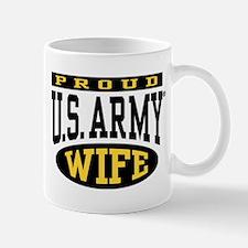 Proud U.S. Army Wife Mug