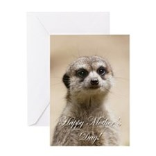 Happy Mothers Day Meerkat Greeting Cards