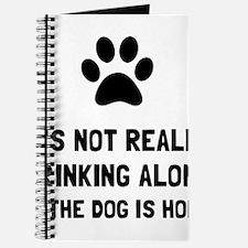 Drinking Alone Dog Journal